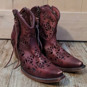 Corral Cut Out Booties